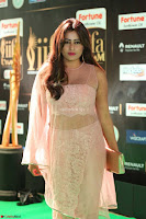 Nidhi Subbaiah Glamorous Pics in Transparent Peachy Gown at IIFA Utsavam Awards 2017  HD Exclusive Pics 61.JPG