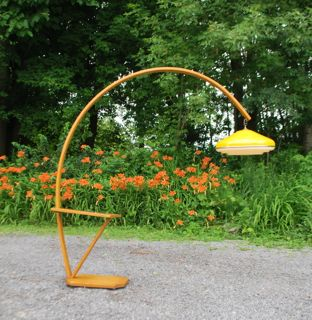 Retro Arc Floor Lamp