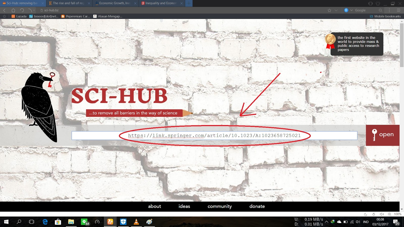 Cara Mendownload Jurnal Berbayar Seperti JStore / Science ...