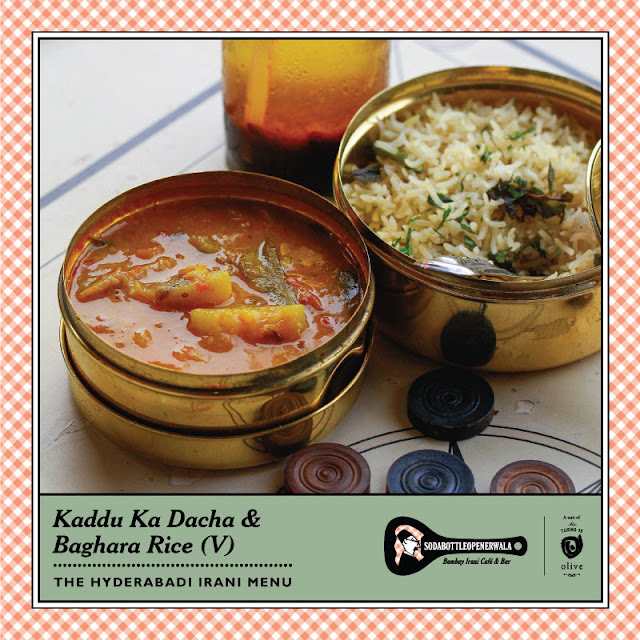 SodaBottleOpenerWala, Hyderabad adds A new Menu showcasing the delicious food of the Hyderabad Irani cafes