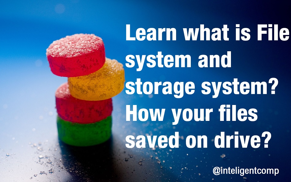 What is file system? How files-directories are stored on hard drive? : Intelligent computing