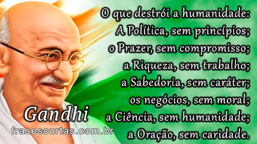 Mensagens de Gandhi