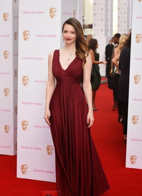 TV BAFTA awards- Best dressed, Talulah Riley