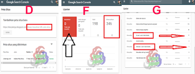submit sitemap ke google console