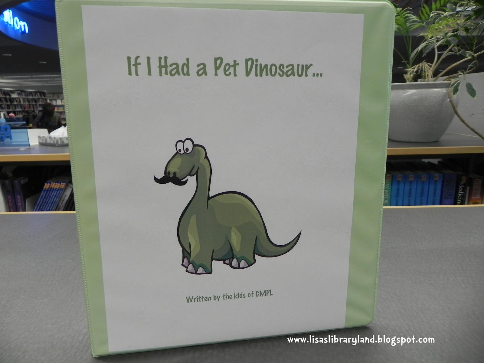 Libraryland If I Had A Pet Dinosaur Early Literacy Station