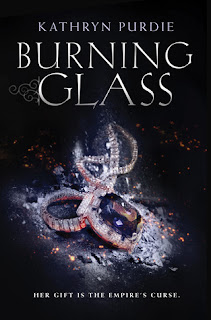 http://www.amazon.com/Burning-Glass-Kathryn-Purdie/dp/0062412361