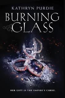 http://www.amazon.com/Burning-Glass-Kathryn-Purdie/dp/0062412361