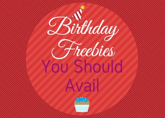Birthday Freebies UK