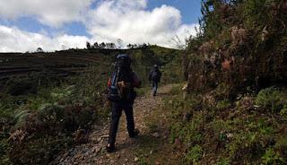 Jalur Pendakian Gunung Gandang Dewata