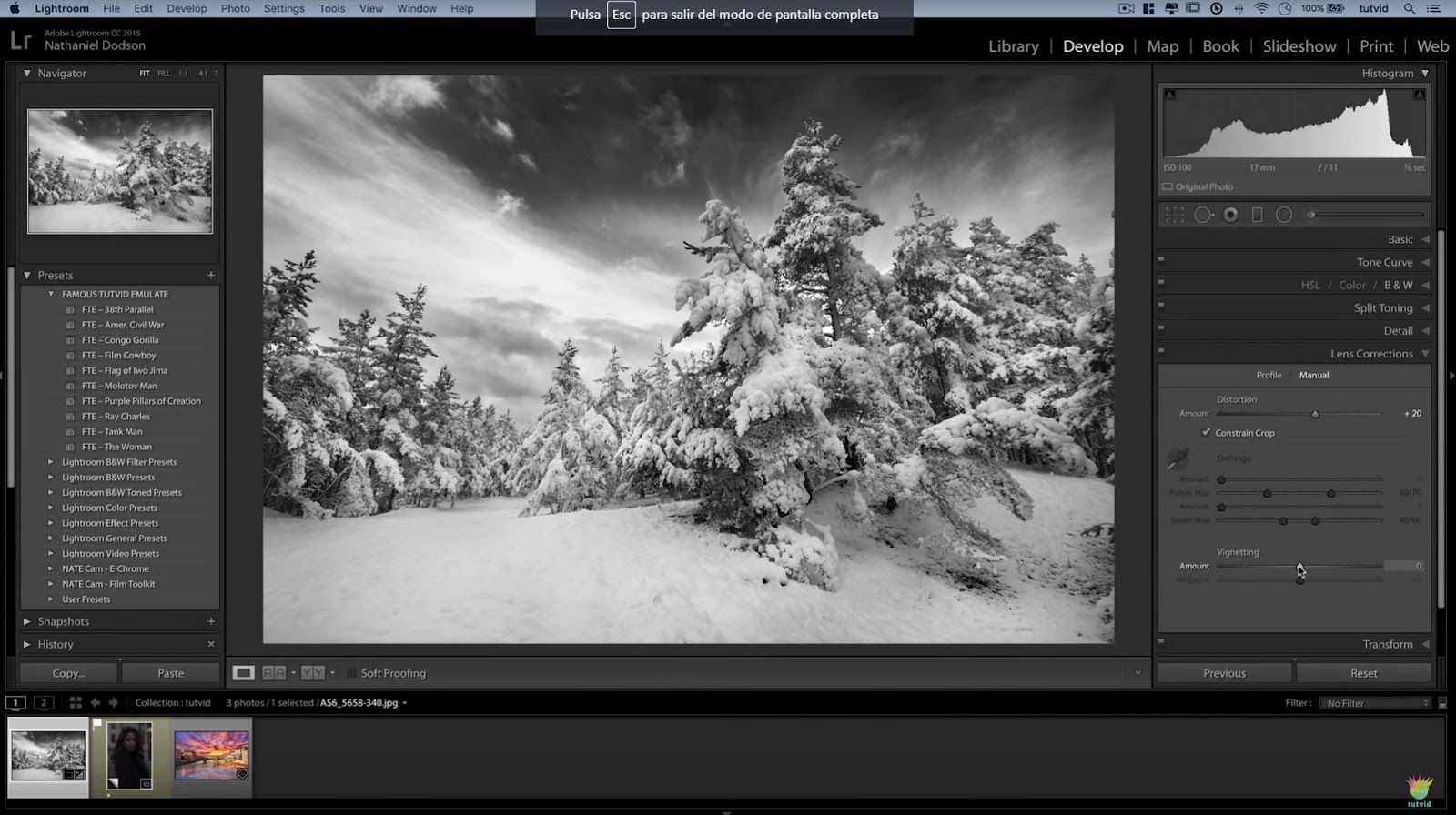3 Great Ways to Create Black and White Photos in Lightroom