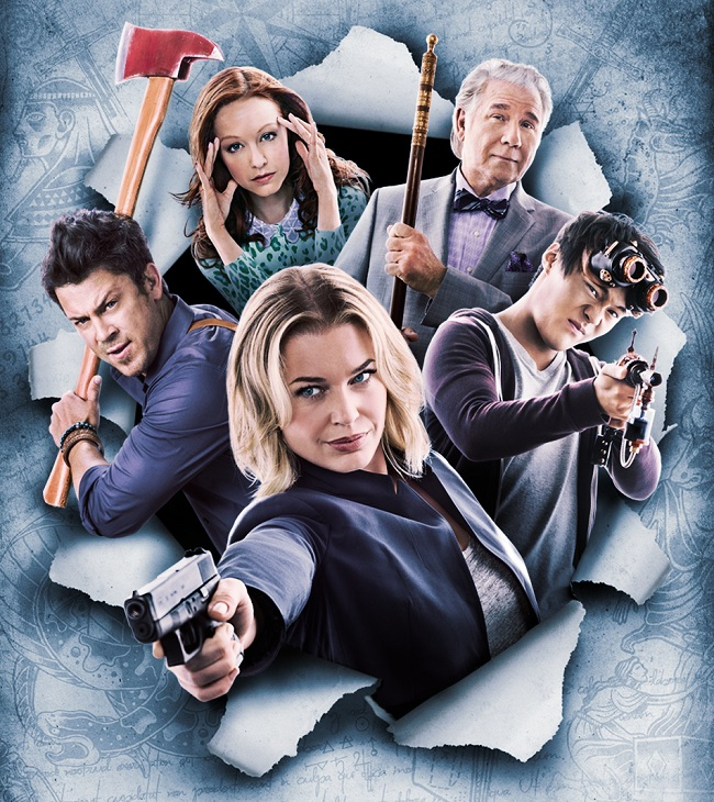 Jadwal tayang serial The Librarians di Universal Channel.