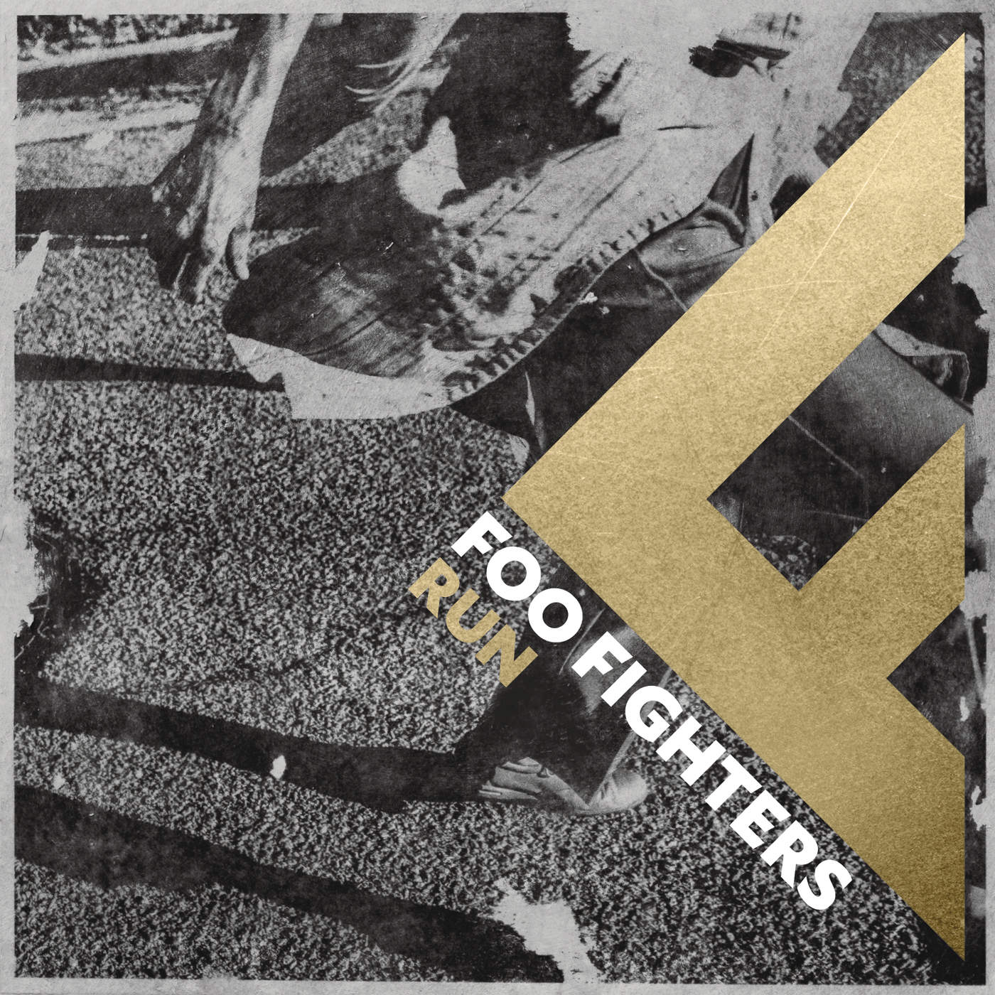 Foo Fighters - Run - Single Cover