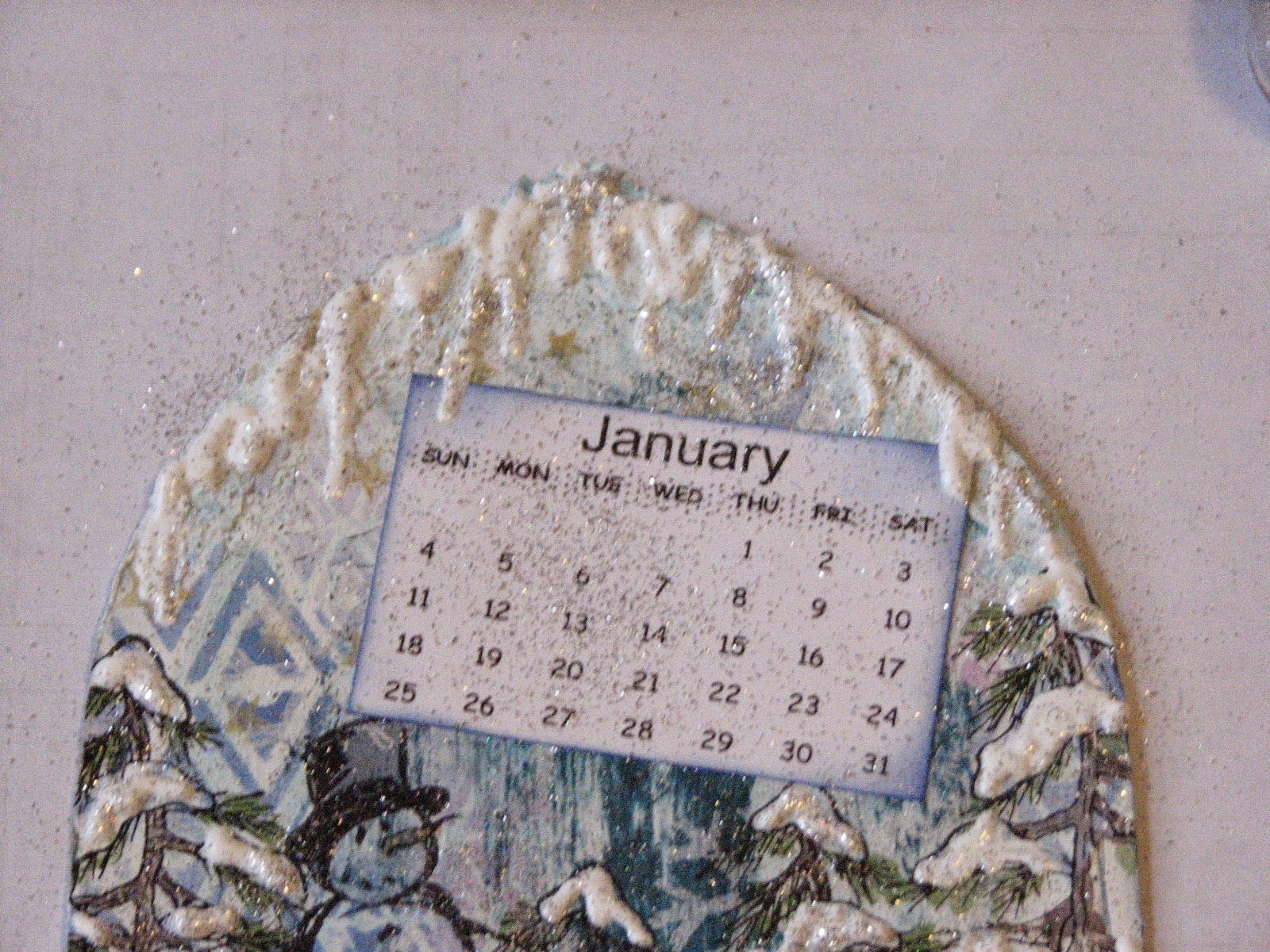 Ink Stains 2015 Technique Calendar January Cont