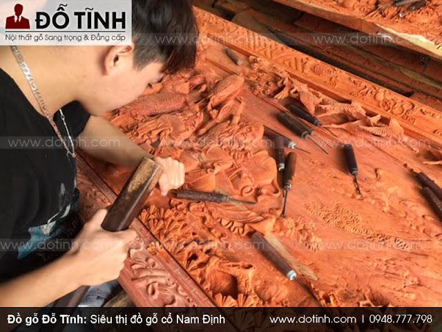 Đồ gỗ tự nhiên Nam Định sản xuất bằng chất liệu gỗ gì?