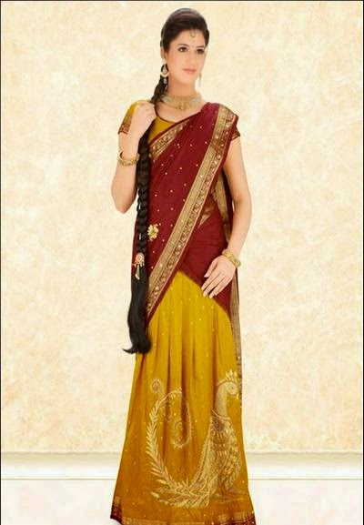 South Indian Costumes for Women  sc 1 st  Textile Learner & South Indian Costumes for Men and Women - Textile Learner