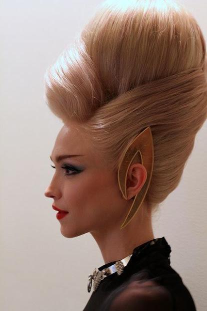 5 crazy avant-garde teased hairstyles