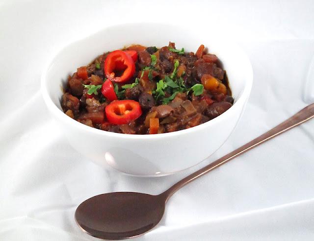 Deep and Smoky Vegetarian Chili