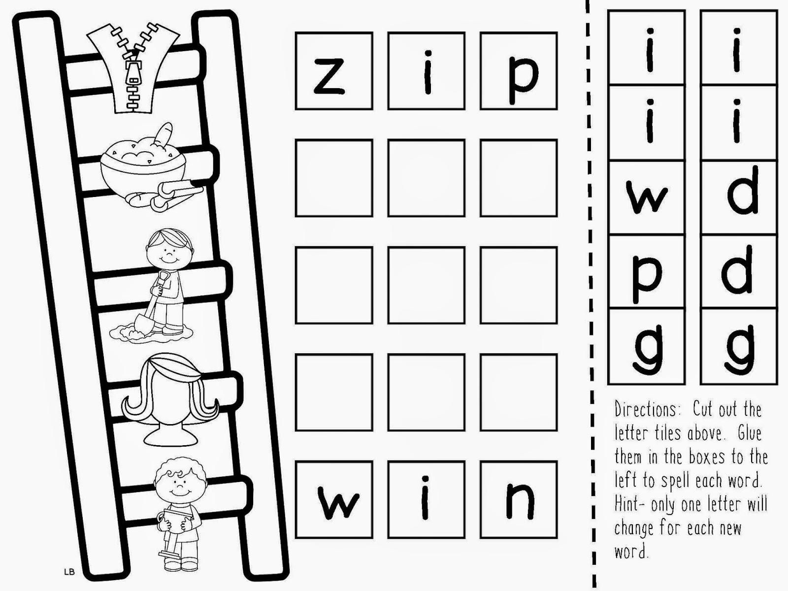 Kindergarten Kerry: Phonics Interactive Journals