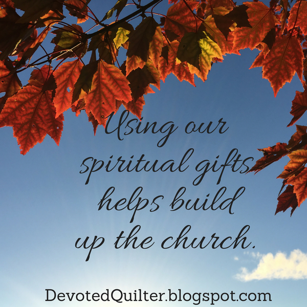Weekly devotions on Christian living | DevotedQuilter.blogspot.com #christian #christianliving #devotion #church