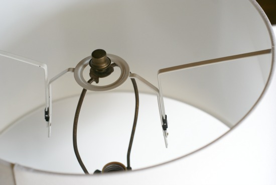 How To Convert An Ikea Jara Drum Pendant Shade To Fit A Lamp Base Dimples And Tangles