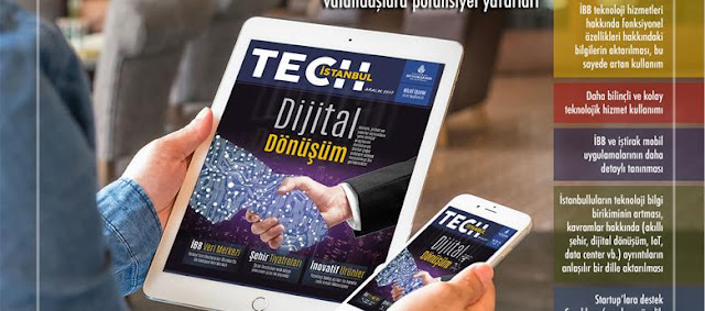 Ücretsiz teknoloji dergisi 'Tech İstanbul' yayın hayatına başladı