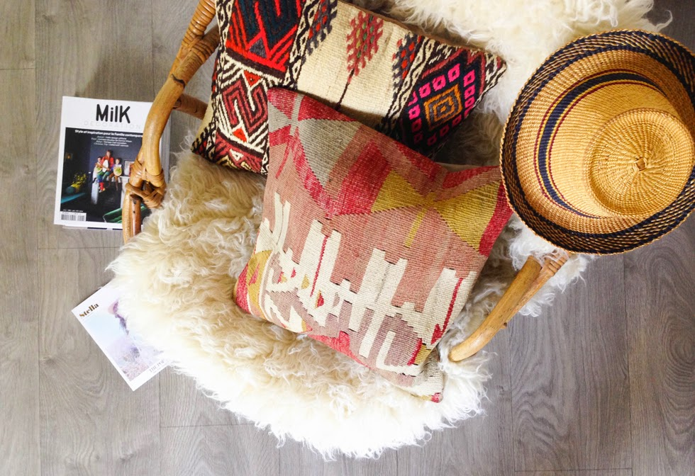 Coussin Kilim ©loversofmint