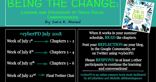 Being the Change #cyberPD Ch. 5-6