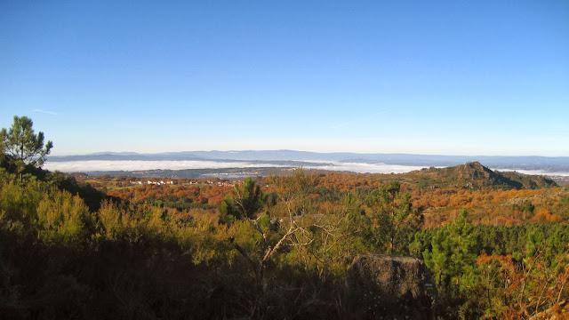 Vistas en el PR-G 4 Camiño Real San Pedro de Rocas en Esgos