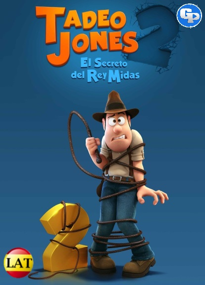 Tadeo Jones 2: El Secreto del Rey Midas (2017) LATINO