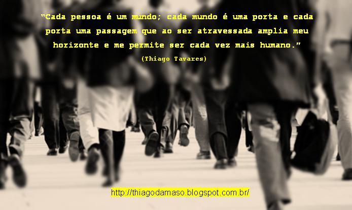 Escritor: Cada Pessoa é Um Mundo (Imagem
