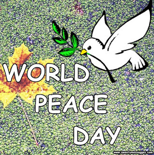 world peace day images