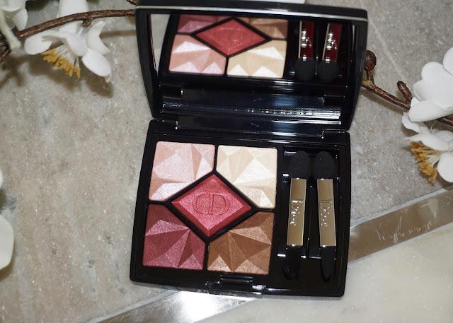 Dior 5 Couleurs Precious Rocks Palette Ruby | bellanoirbeauty.com