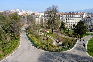 Jardines del Palacio Longchamp, Marsella.