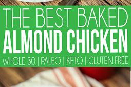 The Best Keto Almond Chicken Recipe