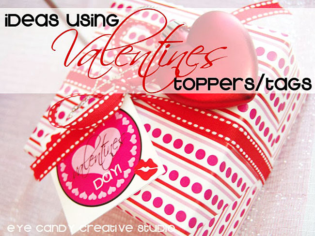 valentines present, gift wrap ideas, valentines gift tags, polka dots