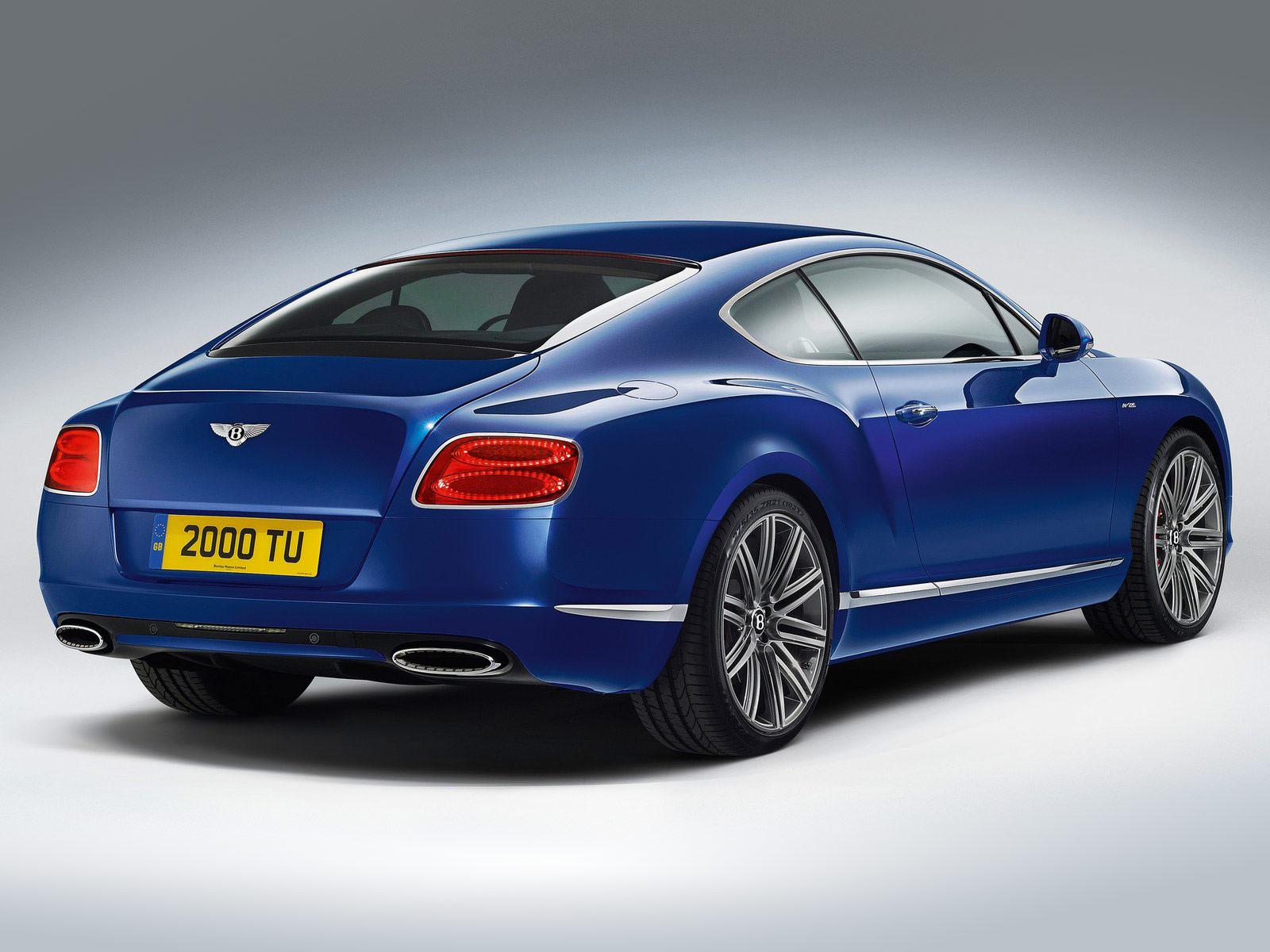 Gambar Mobil Bentley Continental GT Speed 2013