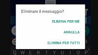 Eliminare messaggi inviati per errore in Whatsapp e annullare l'invio