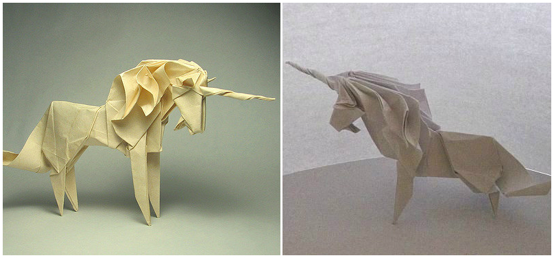 I Am Not A Big Origami Fan But Saw This Beautiful Unicorn By Roman Diaz And Became Curious If Can Do It Used Tutorial
