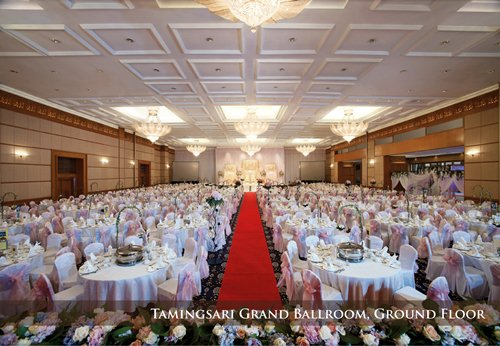 huge ballroom KLCC