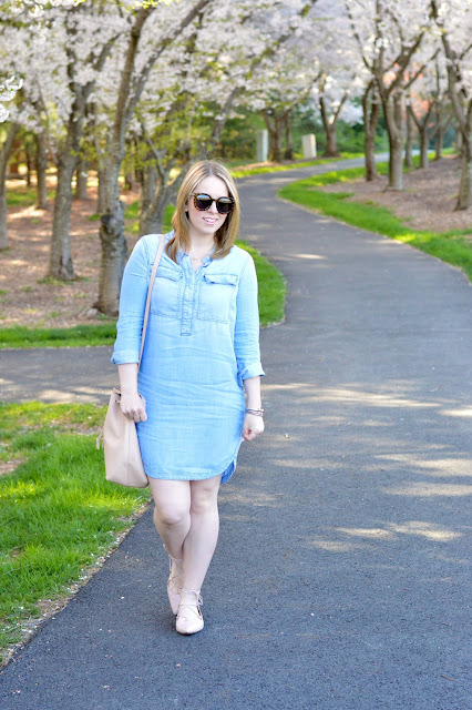 how-to-wear-chambray-for-spring