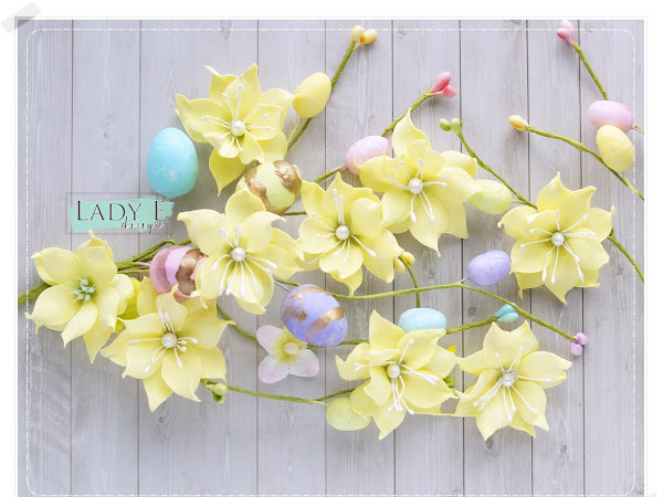 Easter Eggs & Spring Flowers Video Tutorial
