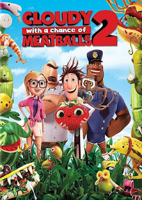 Cloudy with A Chance Of Meatballs 2 (2013) Dual Audio Hindi 720p BRRip 800MB