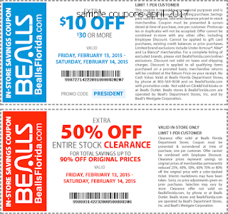 Bealls coupons for april 2017