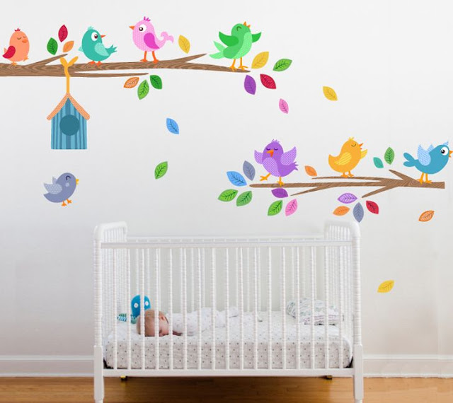 Decorar Paredes Infantiles Top Homekids Inspiracin Y Creatividad - Decoracin-paredes-infantiles