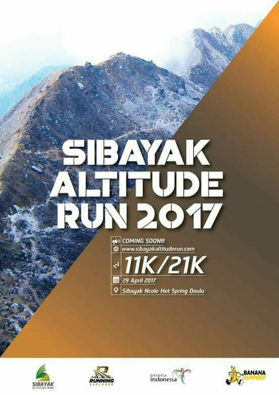 Sibayak Altitude Run • 2017