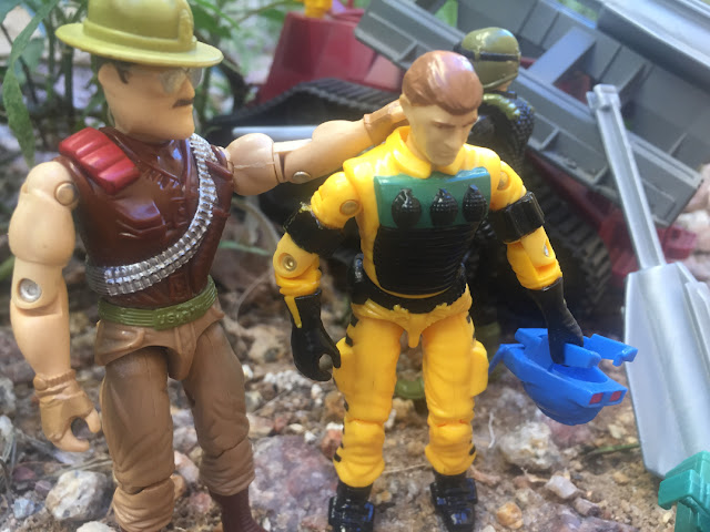 1988 Lightfoot, Sgt. Slaughter, Cobra Imp, Night Force crazylegs