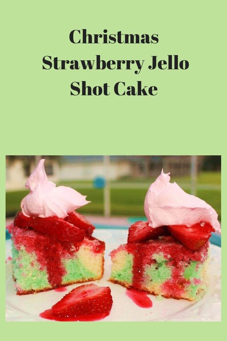 an adult cake made with alcohol and jello using a cake mix jello shot cake