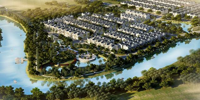 Khu Biệt thự - Nhà phố Park River Side quận 9 HCM