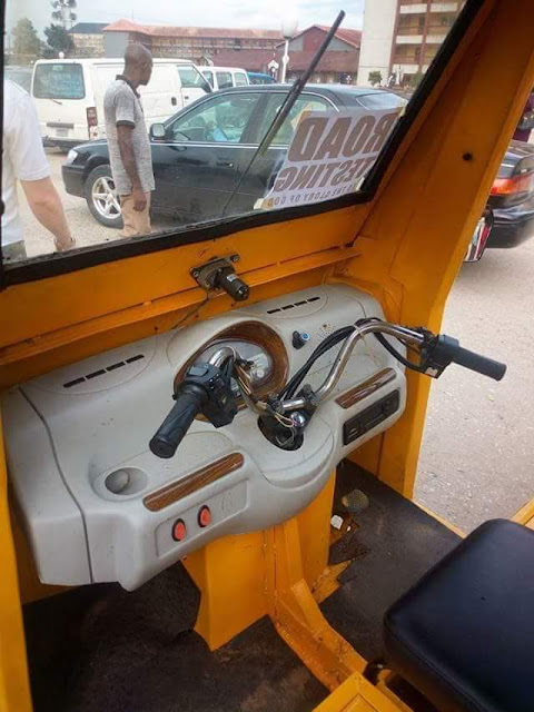Nigerians Built Beautiful Keke That Works Without Fuel (Photos)