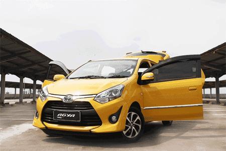 Paket Kredit Murah Toyota Agya Terbaru 2018